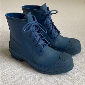 Hunter Short Lace Up Rain Boots